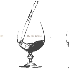 by the glass 2