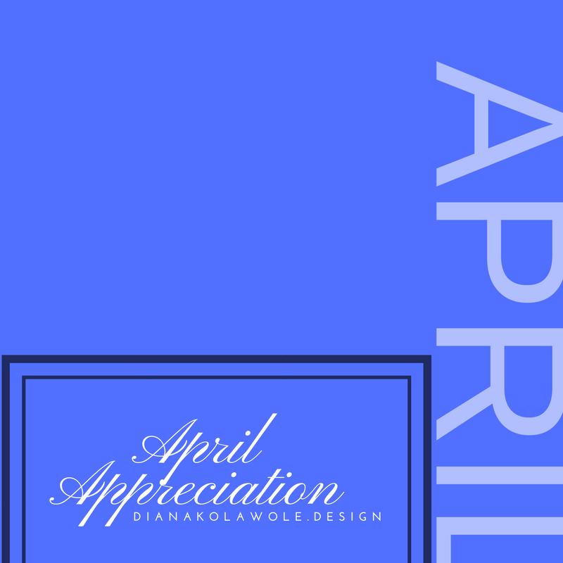 April Appreciation