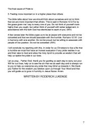 A Humble Heart -Humility Editorial 7