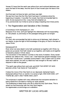 WHO IS THE HOLY SPIRIT - EDITORIAL8