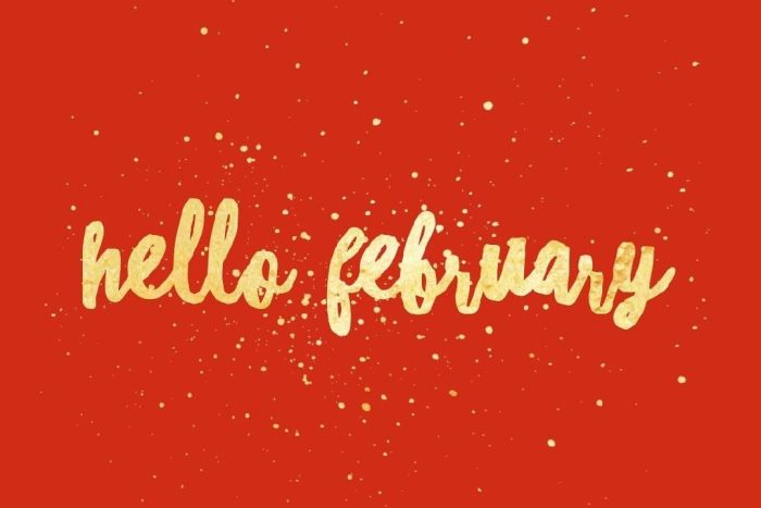 Welcome to February!!